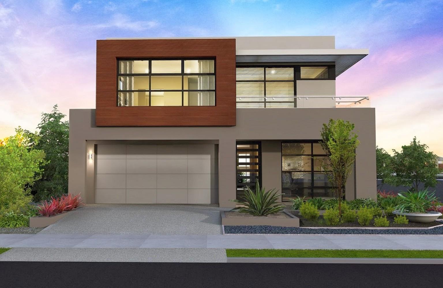 Desain Rumah Modern Gaya Eropa - PropertiTerbaru.com